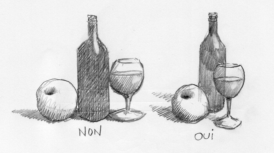Equilibrer vos compositions - Dessin de nature morte ...