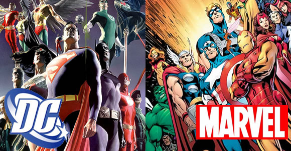 Comics V/S Marvel