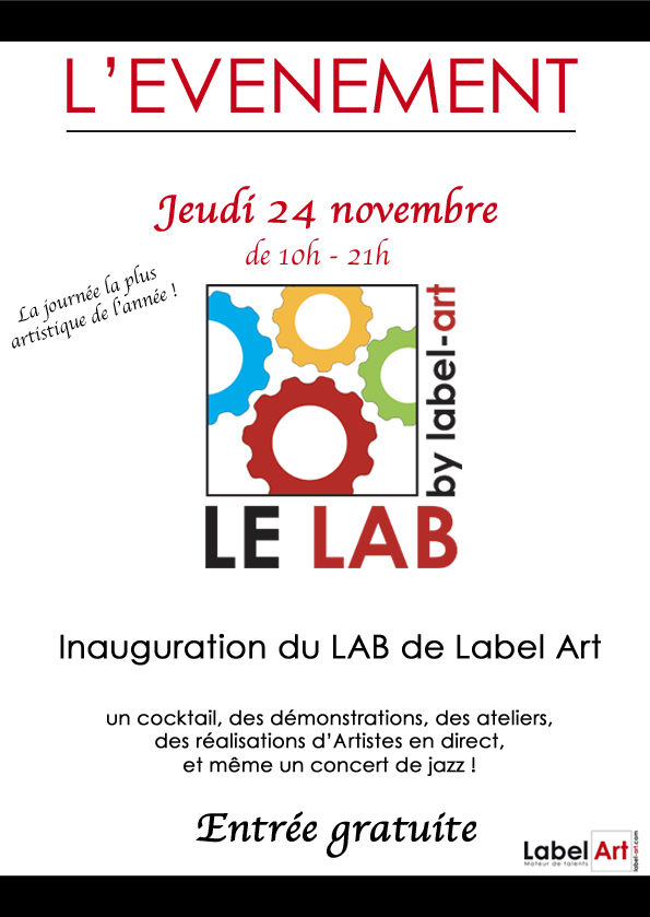 Le LAB de Label Art