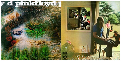 A saucerful of Secrets 1967 - Ummagumma 1969