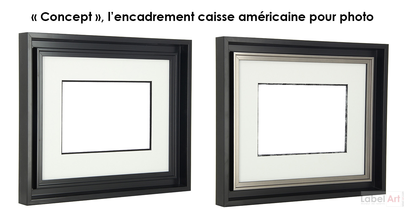 encadrement dans le var la caisse am ricaine pour photo. Black Bedroom Furniture Sets. Home Design Ideas